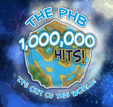 [Picture used for PHB's 1,000,000th Hits Mark]